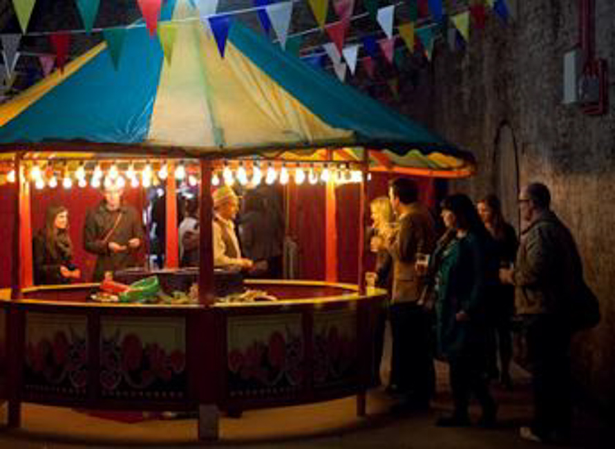 This Weekend: the Holiday Summer Camp at the Old Vic Tunnels