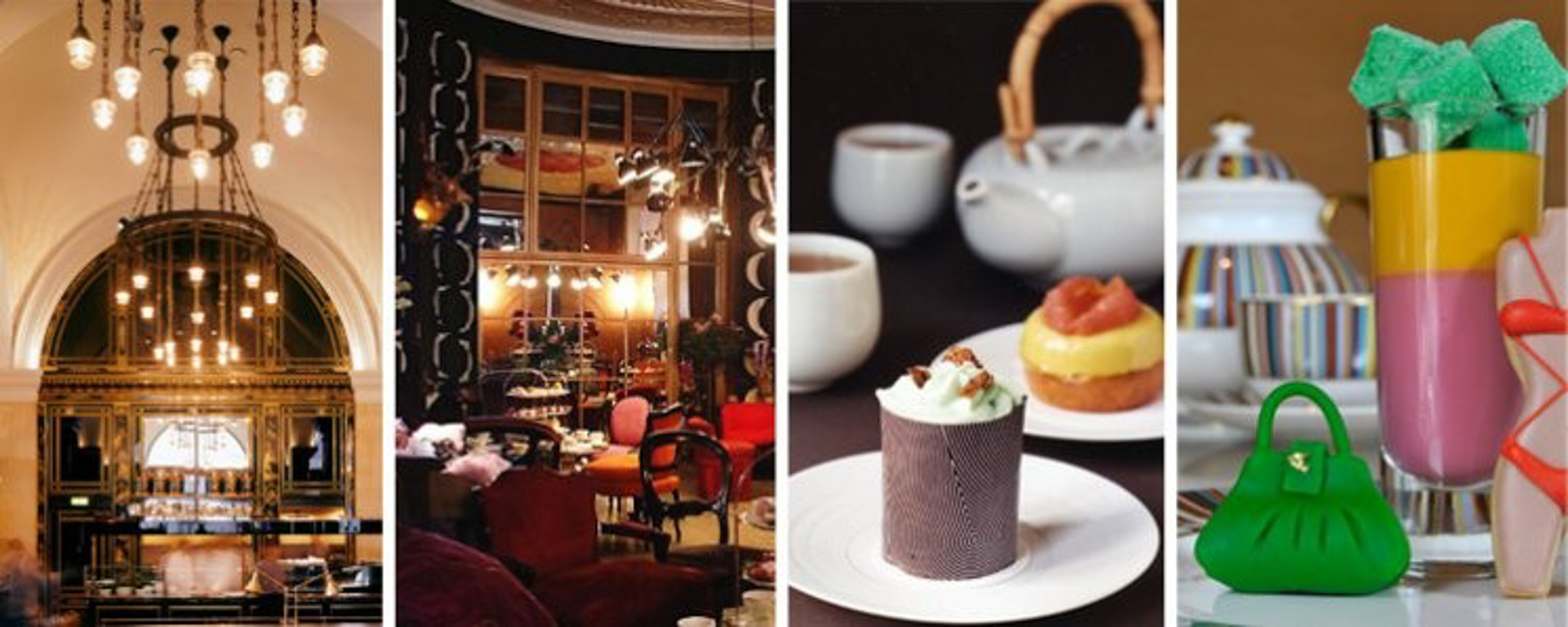 The magnificent Wolseley, the opulent Parlour at Sketch, Tea at Yauatcha and at The Berkeley