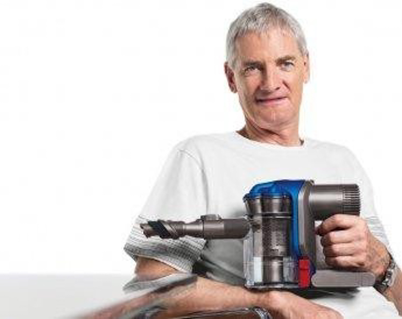 "Sir James Dyson : The ""Gyro Gearloose"" of British engineers"