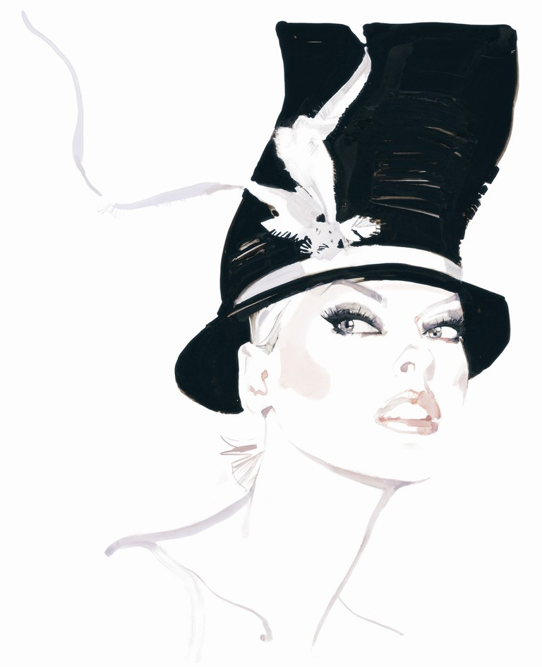 David Downton, Fashion Illustrator and Claridge's Artist in Residence