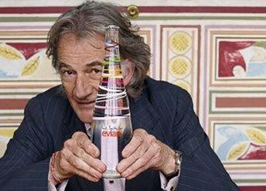 Paul Smith for Evian: a super stylish Franco-British Limited Edition bottle for 2010
