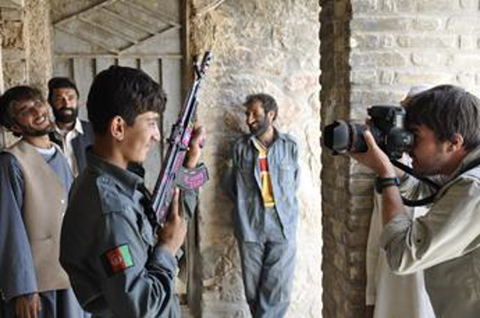Photographing the Afghan Police: Opium, Bribes and Eyeliner