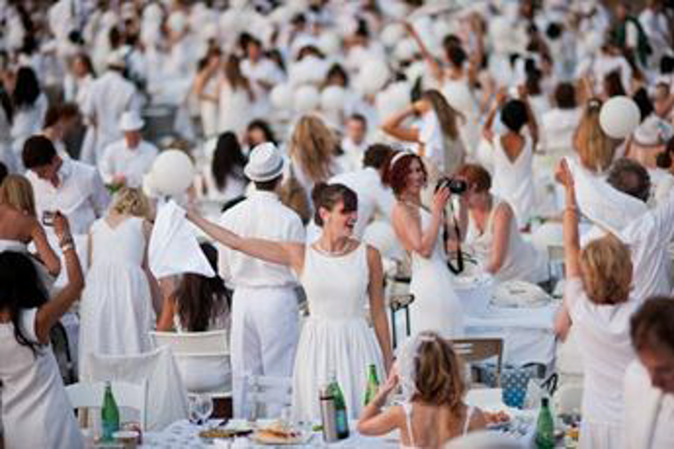 September Parties! Dîner en Blanc, Retrospective and Paradise