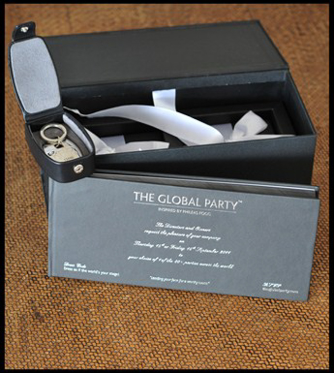 The Global Party: Jet Setting Around the World for Charity