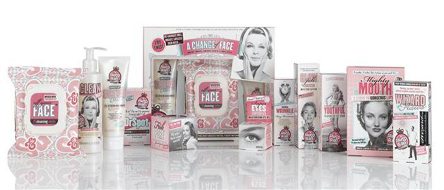 The Soap & Glory range