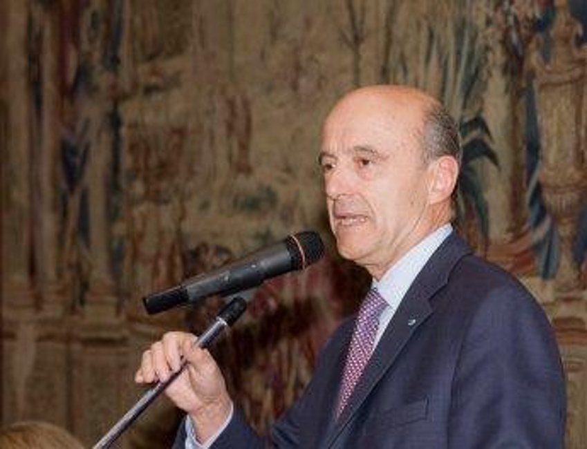 Sciences-Po Dinner at the French Ambassador's house with former Prime Minister Alain Juppé