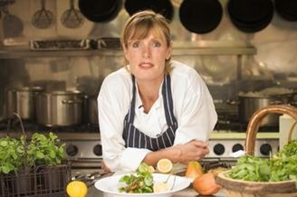 Skye Gyngell, Chef at Petersham Nurseries Café