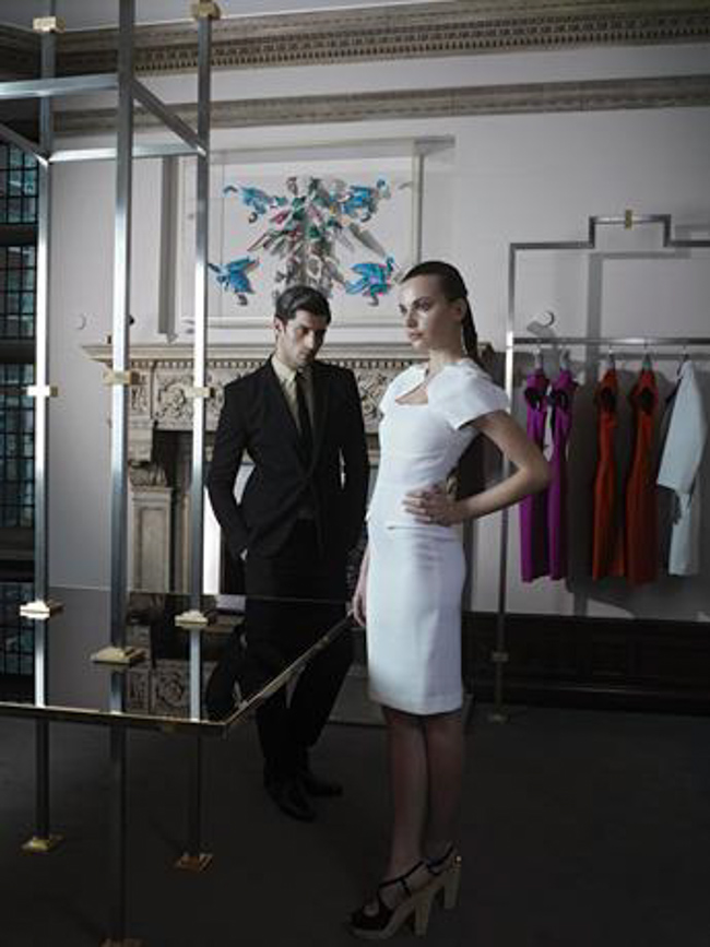 Roland Mouret's House: the Designer First Flagship Shop in Mayfair