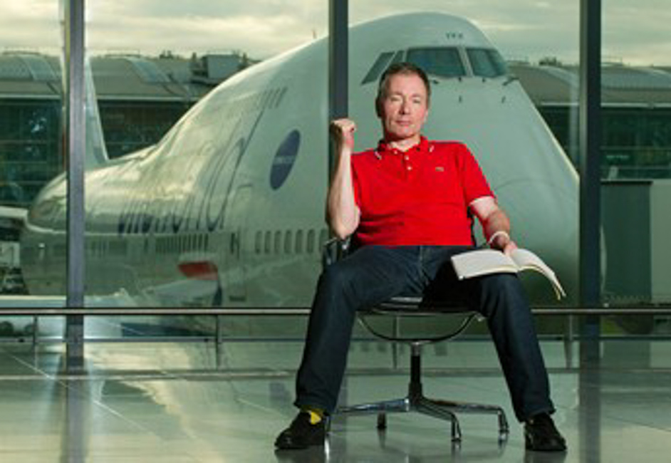 A Novel Route for Heathrow: Tony Parsons as writer-in-residence