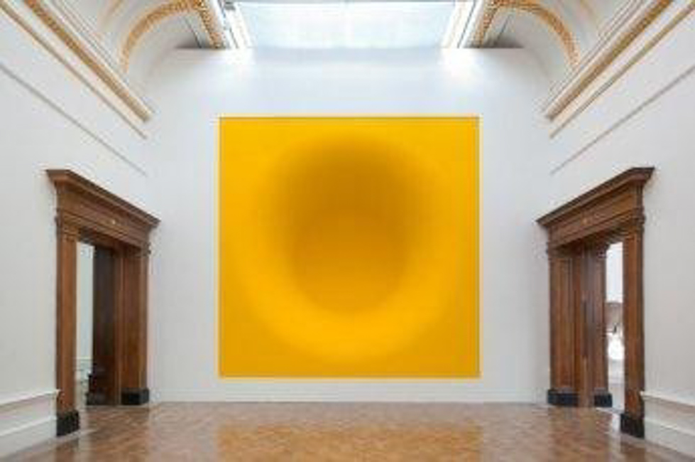 An exhibition of sculptor Anish Kapoor at the Royal Academy of Arts