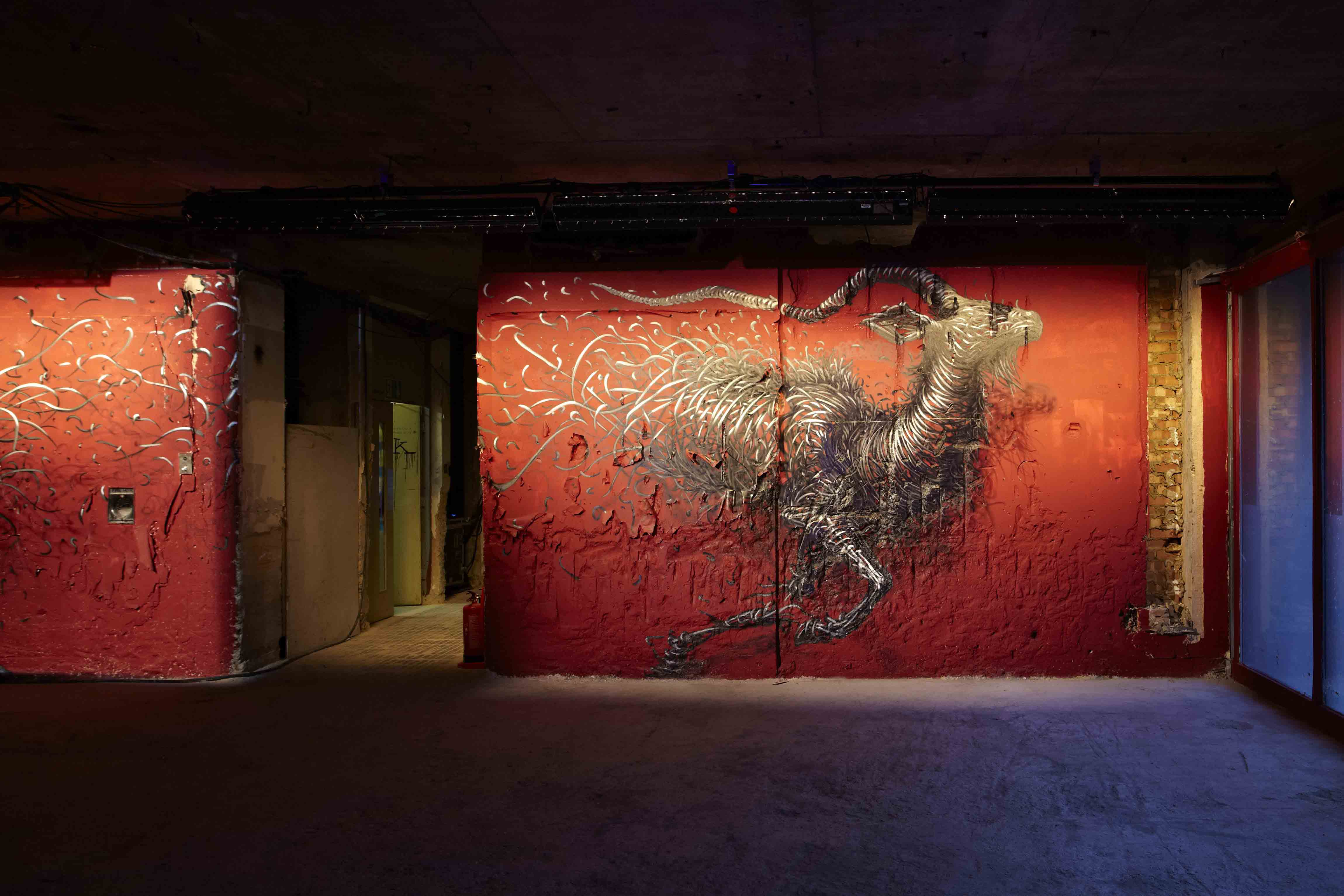 Lazarides New Exhibition: Morphing Brutality into Beauty