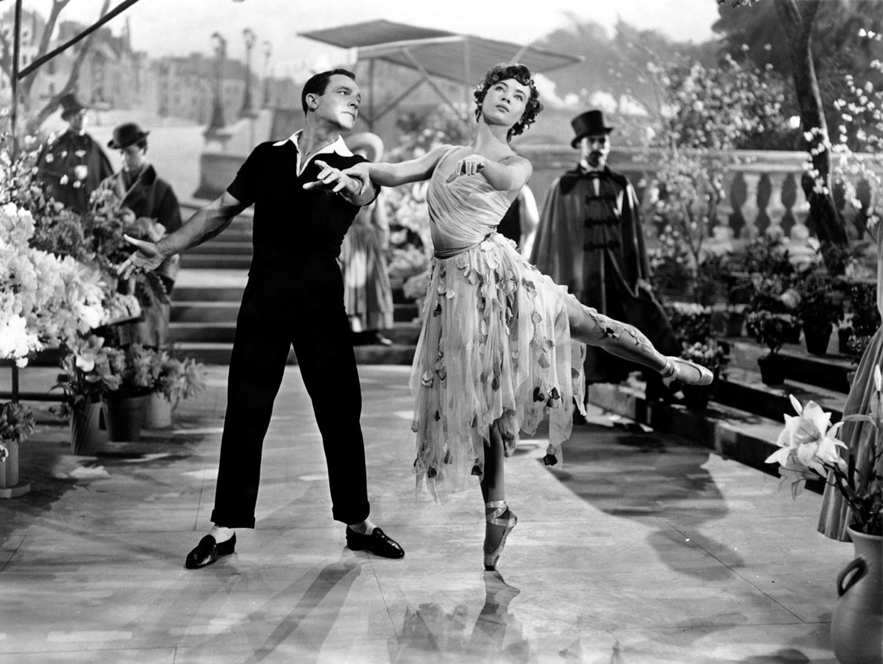 With Gene Kelly in An American in Paris (1951)